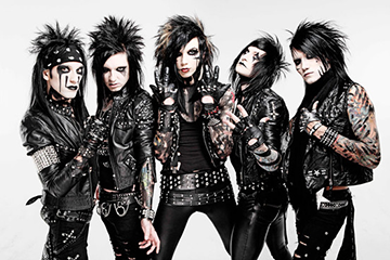 Black Veil Brides - U.S. Tour at The Wiltern