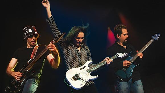 Joe Satriani & Steve Vai at The Wiltern