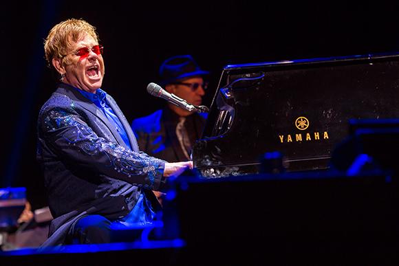 Elton John at The Wiltern