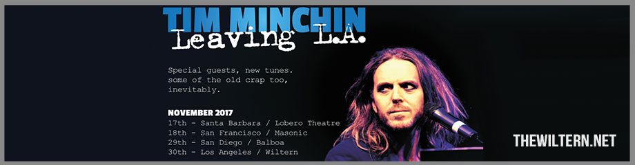 Tim Minchin at The Wiltern