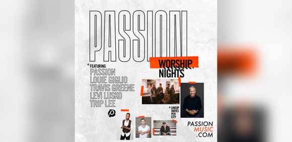 Passion, Louie Giglio & Travis Greene at The Wiltern