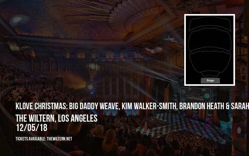 KLove Christmas: Big Daddy Weave, Kim Walker-Smith, Brandon Heath & Sarah Reeves at The Wiltern