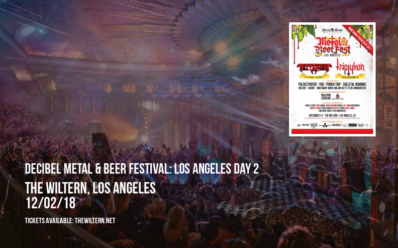 Decibel Metal & Beer Festival: Los Angeles Day 2 at The Wiltern
