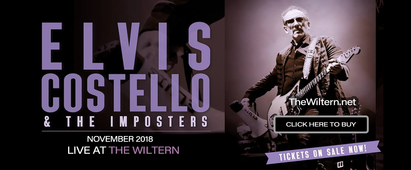 Elvis Costello at The Wiltern