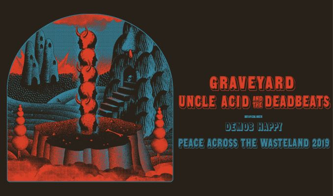 Uncle Acid and The Deadbeats & Graveyard at The Wiltern