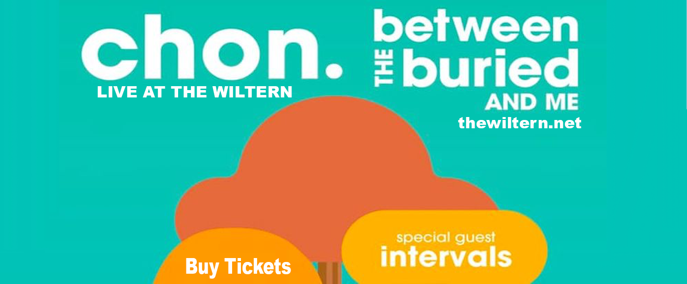 Chon, Between The Buried and Me & Intervals at The Wiltern
