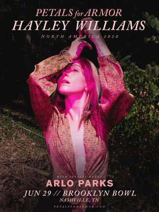 Hayley Williams & Arlo Parks [POSTPONED] at The Wiltern