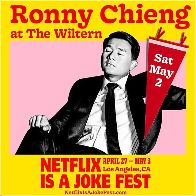 Netflix Is A Joke Festival: Ronny Chieng [CANCELLED] at The Wiltern