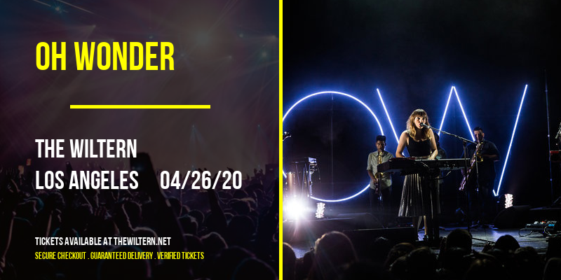 Oh Wonder [CANCELLED] at The Wiltern
