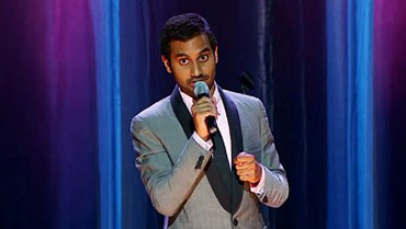 Aziz Ansari at The Wiltern