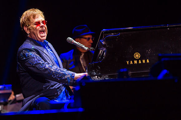 Elton John at The Wiltern