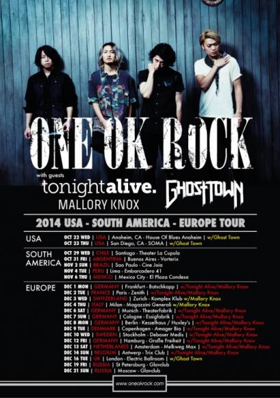 One Ok Rock - Friday Admission at The Wiltern