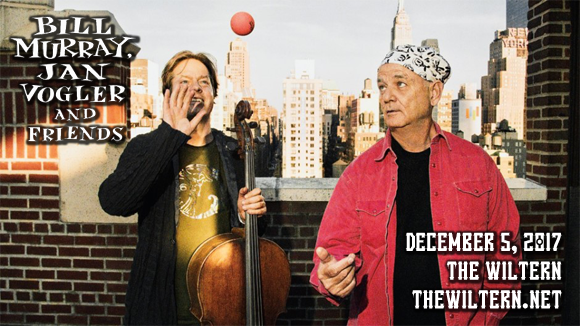 Bill Murray & Jan Vogler at The Wiltern