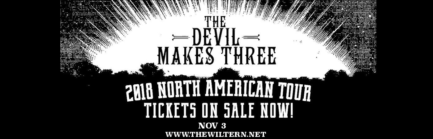 The Devil Makes Three at The Wiltern