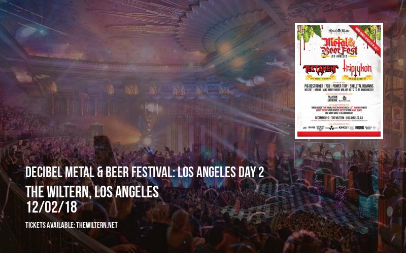 Decibel Metal & Beer Festival: Los Angeles Day 2 at The Wiltern