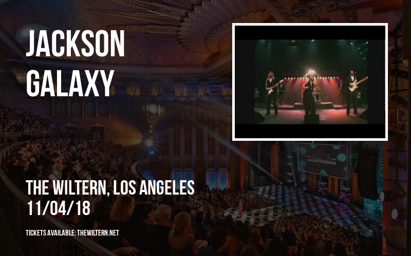 Jackson Galaxy at The Wiltern