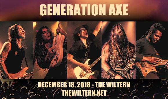 Generation Axe, Steve Vai, Zakk Wylde, Yngwie Malmsteen, Nuno Bettencourt & Tosin Abasi at The Wiltern