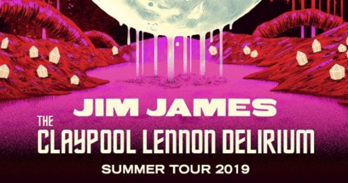 Jim James & The Claypool Lennon Delirium at The Wiltern