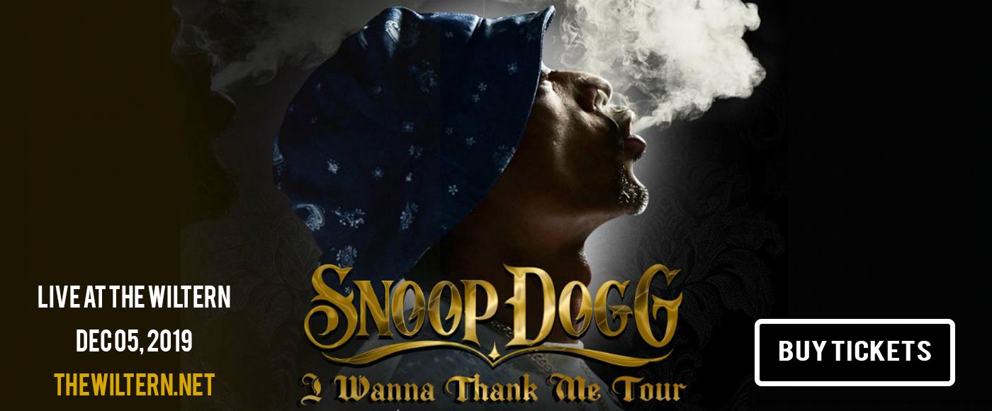 Snoop Dogg at The Wiltern