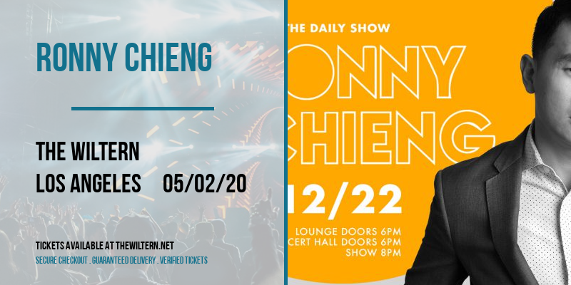 Ronny Chieng at The Wiltern