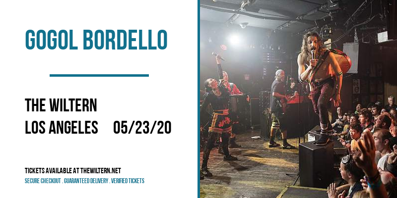 Gogol Bordello at The Wiltern