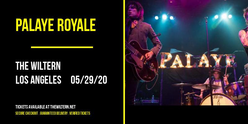 Palaye Royale [POSTPONED] at The Wiltern