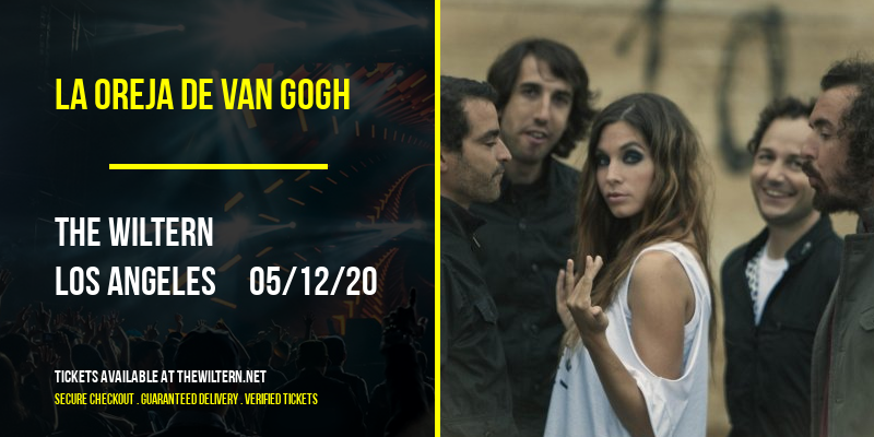 La Oreja De Van Gogh [POSTPONED] at The Wiltern