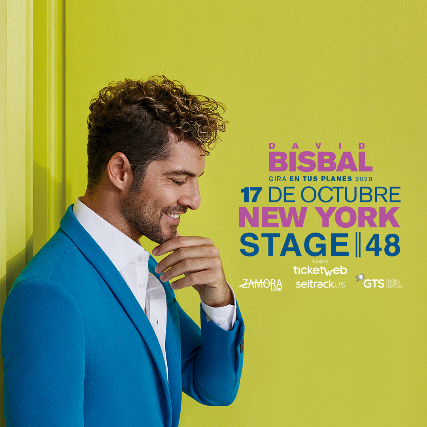 David Bisbal [CANCELLED] at The Wiltern
