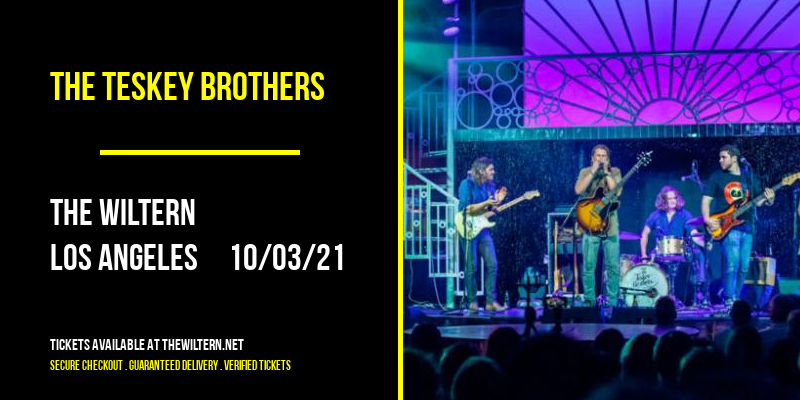 The Teskey Brothers [CANCELLED] at The Wiltern