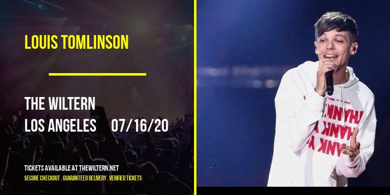 Louis Tomlinson [CANCELLED] at The Wiltern