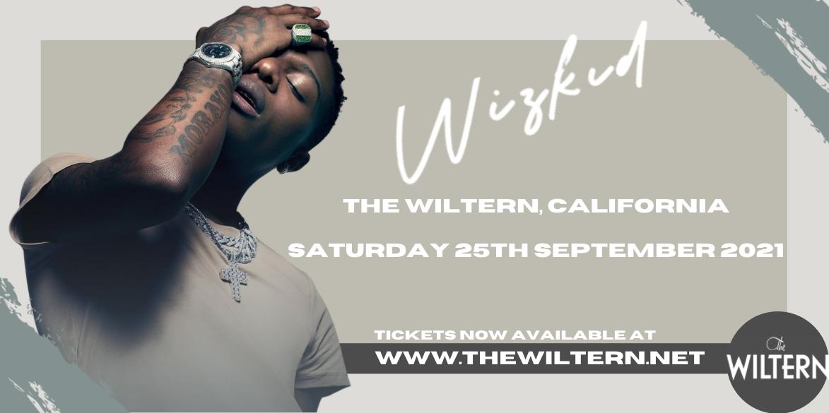 Wizkid at The Wiltern
