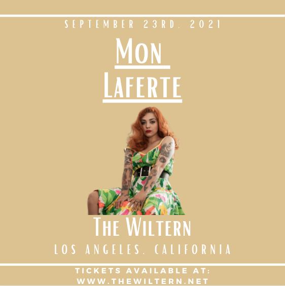 Mon Laferte at The Wiltern