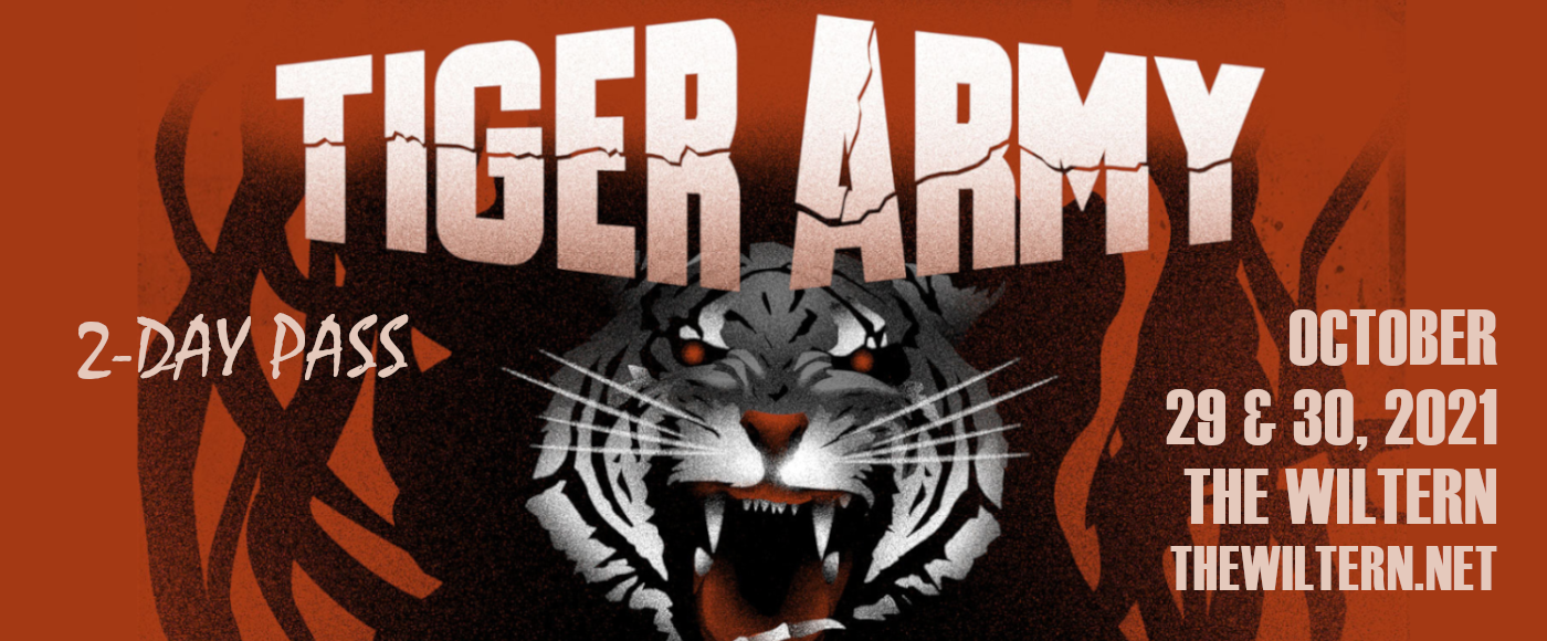 Tiger Army - 2 Day Pass at The Wiltern