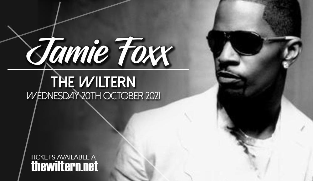 Jamie Foxx at The Wiltern