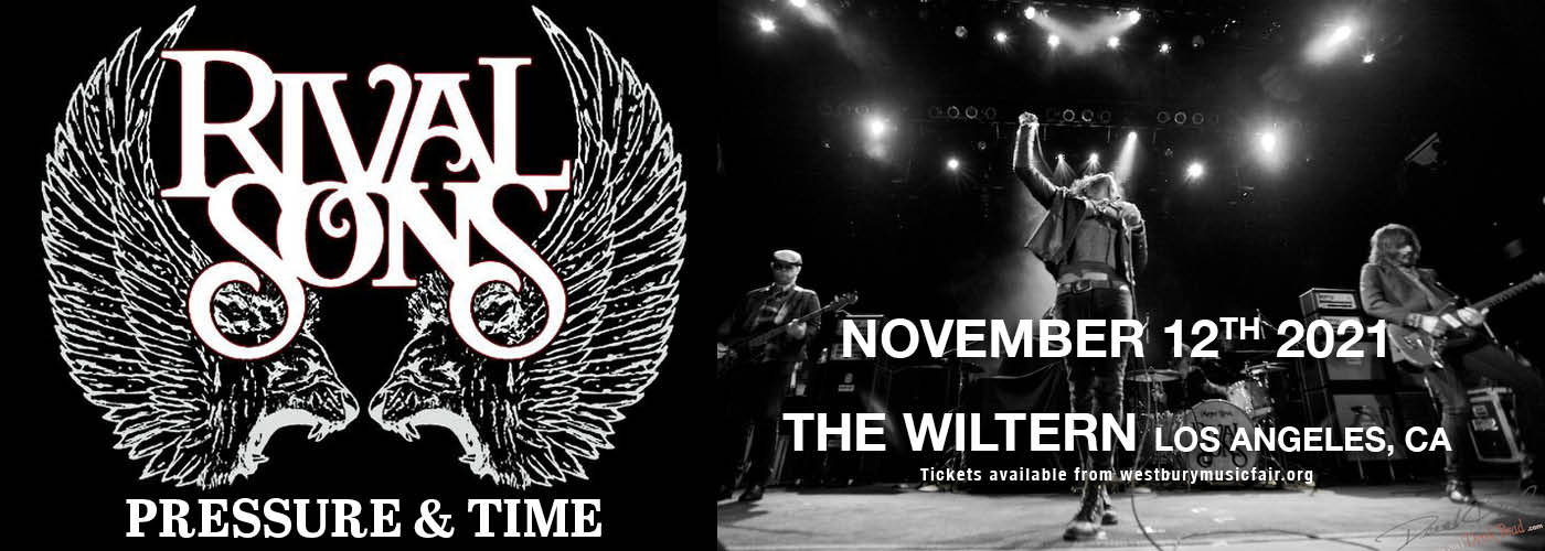 Rival Sons: Pressure and Time 10 Year Anniversary Tour at The Wiltern