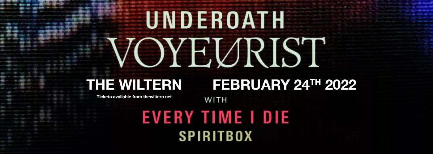 Underoath: Voyeurist at The Wiltern