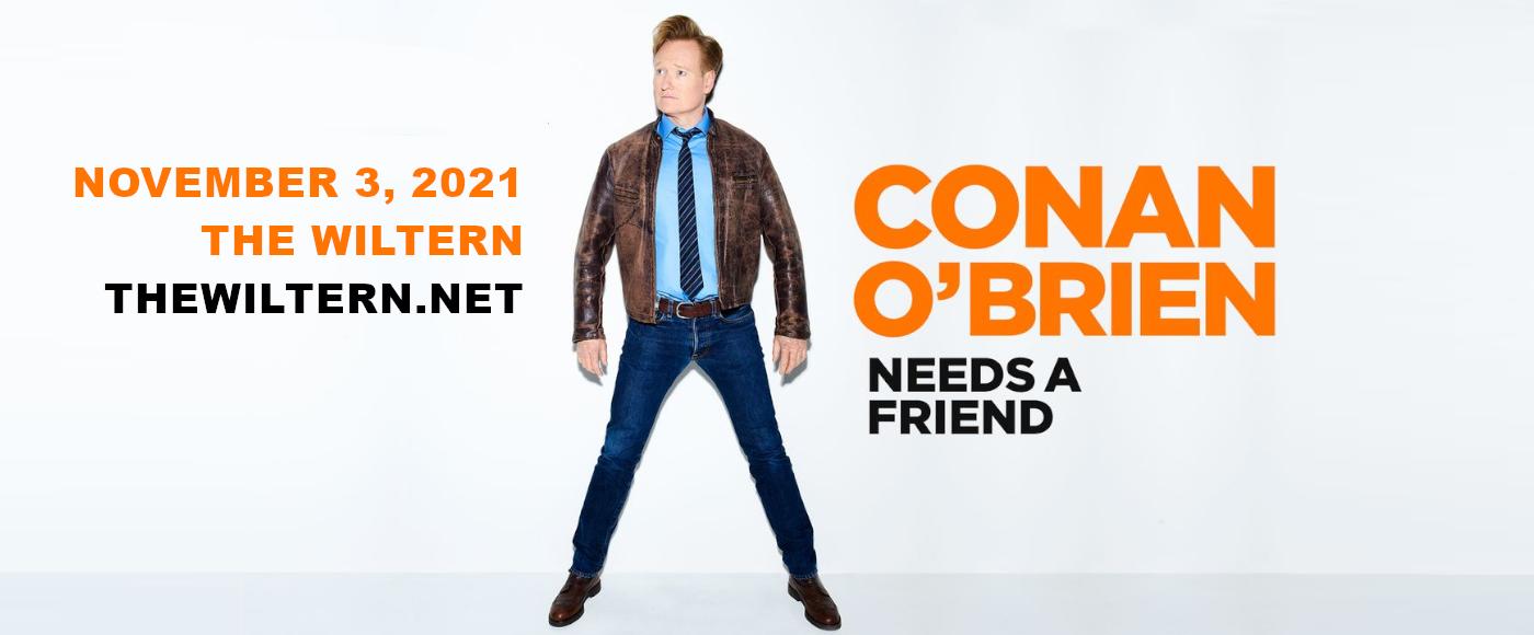 Conan O'Brien Needs A Friend at The Wiltern