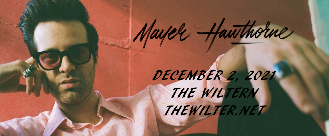 Mayer Hawthorne at The Wiltern
