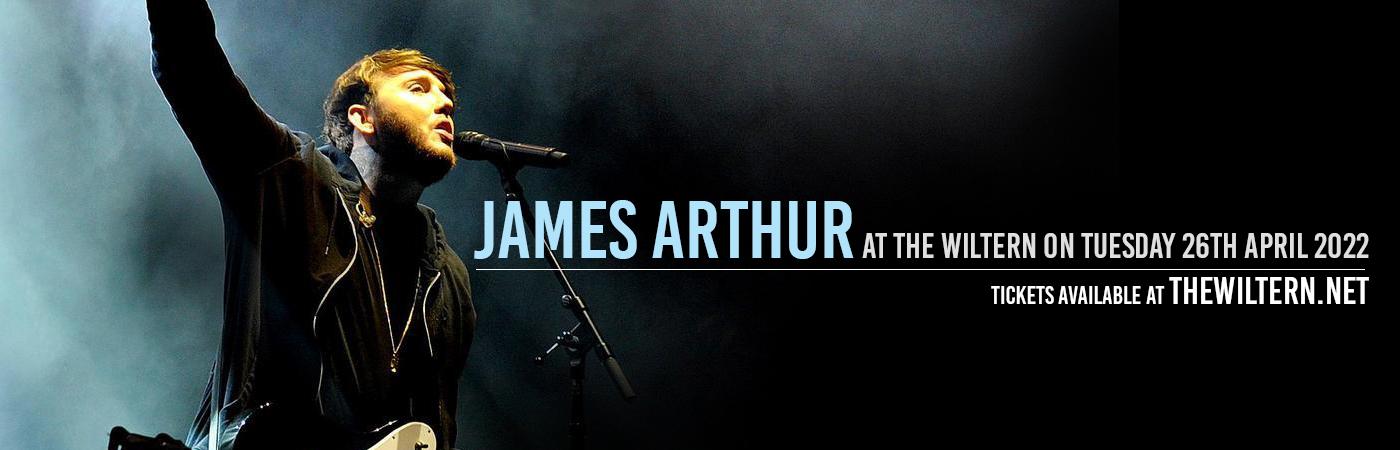 James Arthur at The Wiltern