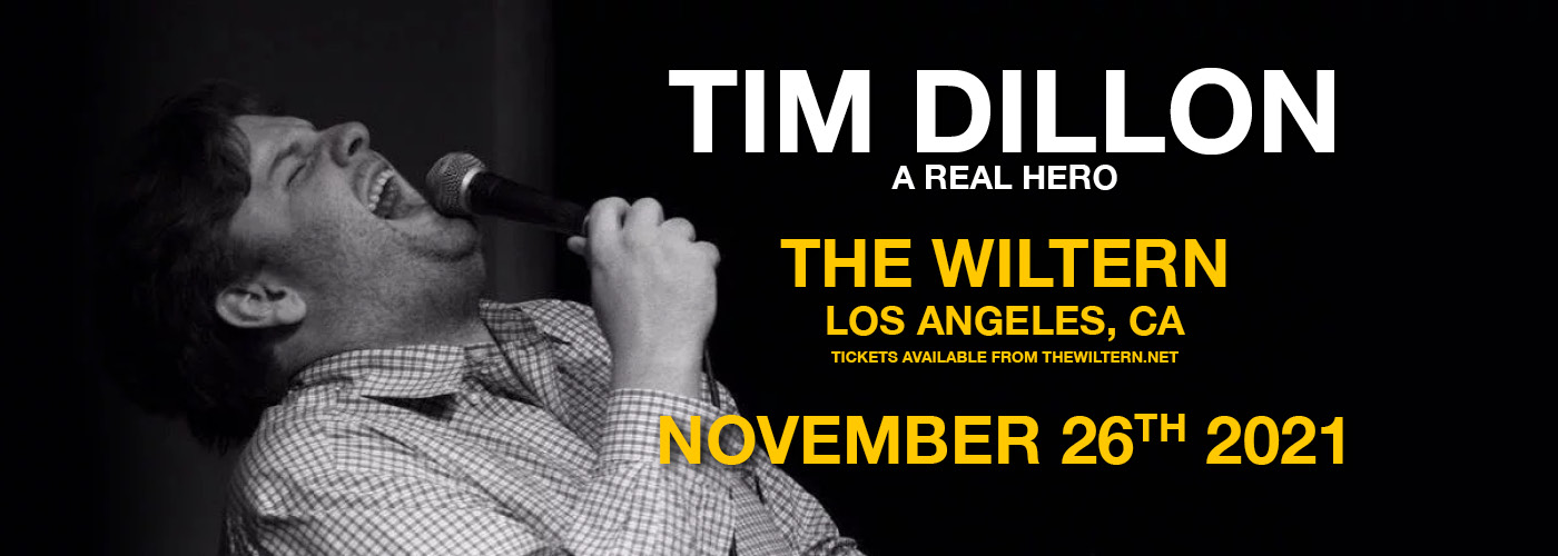 Tim Dillon: A Real Hero at The Wiltern
