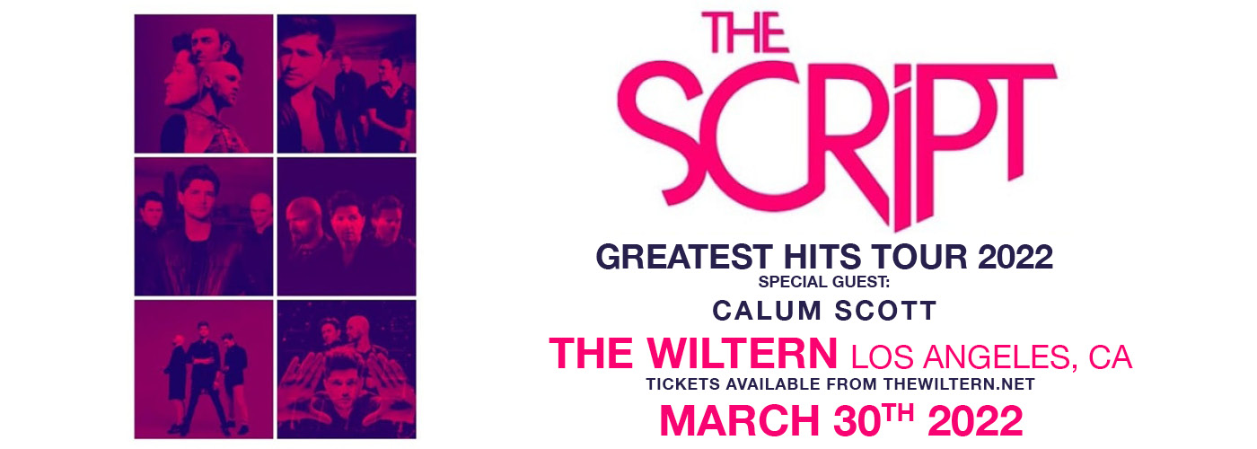 The Script: Greatest Hits Tour 2022 at The Wiltern